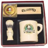 Ichabod Conk gift set mug, soap, and brush
