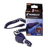 Philips Norelco Car Cord Adapter for use with Norelco SmartTouch-XL, Speed XL, 7100/7200 XLCC, Spectra and Quadra