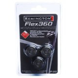 Remington SP5161 Flex 360 Titanium Replacement Heads with Teflon