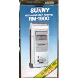 SUNNY Rechargeable Shaver RM-1900