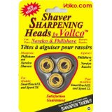 Vollco Sharpening Heads for Norelco Smart Touch and Speed-XL Models using HQ9 heads