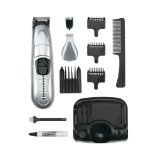 Conair 12 Piece Cordless Trimmer Set in Silver/Green