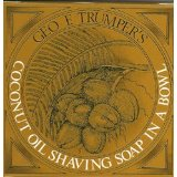 Geo F. Trumper Coconut Oil Shave Soap with Bowl 80 g bar
