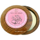 Geo F. Trumper Limes Shave Soap with Wood Bowl