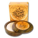 Geo F. Trumper Almond Shaving Soap with Wood Bowl 80 gram bar
