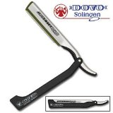 Dovo Shavette Straight Razor with Black Handle