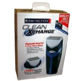 Remington HGX-1 Clean Xchange Cord/Cordless Rechargeable Nanosilver Men's Electric Shaver