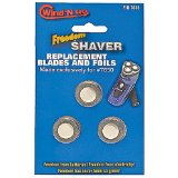 Wind 'N Go Shaver 7655 Replacement Blades