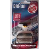 Braun 5000/6000FC- XP 31B Flex Integral Foil/Cutterblock Replacement Pack