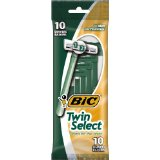 Bic Twin Select Disposable Shaver for Men