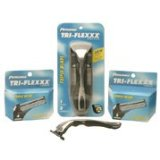 Tri-Flexxx Personna Razor Handle with Two Cartridges Men's 2 Count