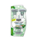 Schick Quattro Titanium Sensitive 4 Blade Disposable Razors with Aloe