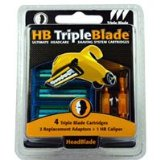 HeadBlade Triple Blade Refills Accessory Kit