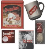Burma-Shave Mug Brush And Soap Set