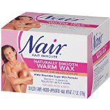 Nair Hair Removal Kit - Microwave Wax for Legs, Body, and Bikini Area