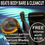 Hair eRazor 3 set Pubic/body shaver