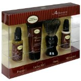 The Art of Shaving The 4 Elements of the Perfect Shave, Sandalwood Essential Oil, for All Skin Types, 1 kit