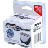 Remington HGX-RC CleanXchange Disposable Foil Cartridges, 2 Pack