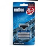 Braun FreeGlider screen foil and cutter blade