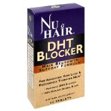 Nu Hair DHT Blocker Hair Regrowth Support Formula Tablets