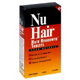 NuHair Hair Regrowth Tablets for Men, 50-Count Box