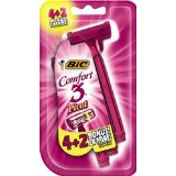 Bic Comfort 3 Disposable Razor for Women