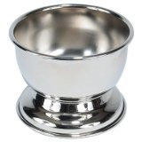 Kingsley Shave Soap Bowl Silver Plated