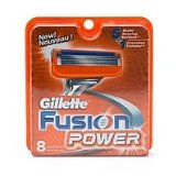 Gillette Fusion Power Replacement Razor Blades